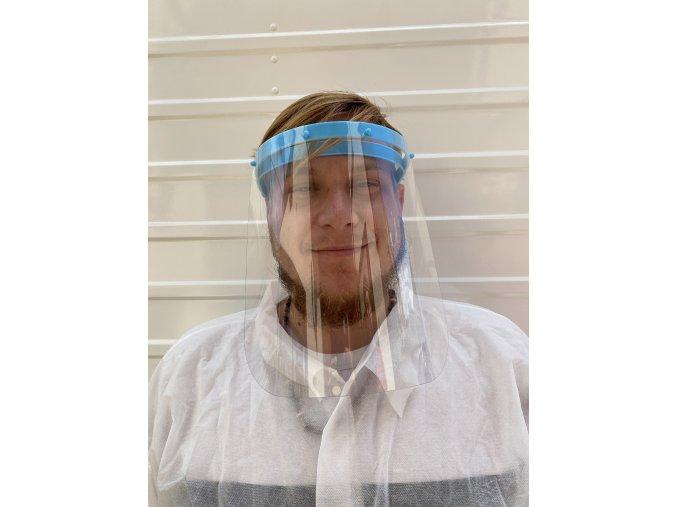 Ochranné štíty na obličej